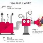 Как превратить детский рисунок в 3d модель
