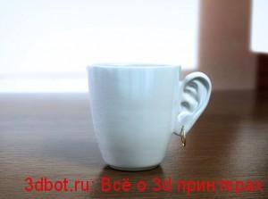 Чашка в виде уха