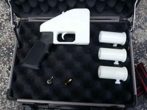 Чертежы, файлы и 3d модели пистолета Liberator из 3d принтера
