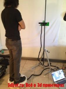 OpenSkan - 3d сканер для сканирования людей