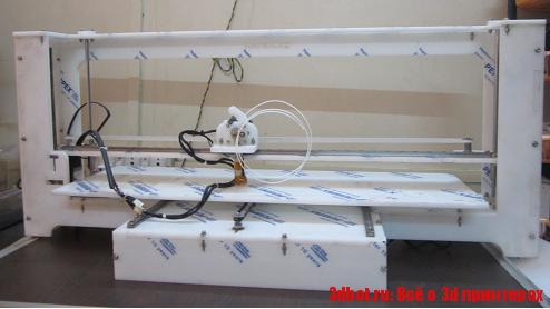 RapidBot Mega 3d принтер