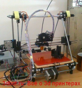 3d принтер Mendel Prusa
