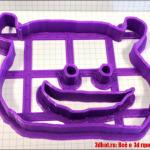 Формы для печенья на 3d принтере