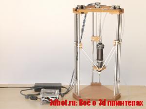 Как сделать керамический Дельта 3d принтер