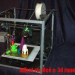 Asterid 3d принтер
