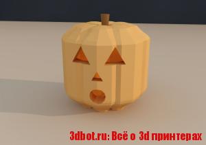 3d  принтер и Хеллоуин