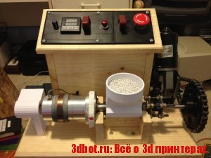 Lyman Filament экструдер пластика для 3d печати