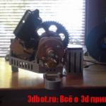 STRUdittle экструдер пластика для 3d принтера