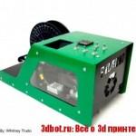 Filabot Wee — экструдер пластика для 3d печати