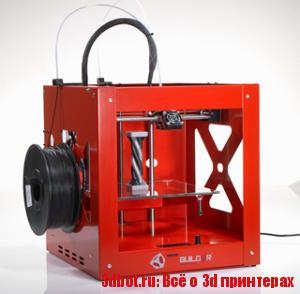 Builder dual extrusion 3D принтер