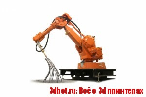 MX3D-Metal 3d принтер