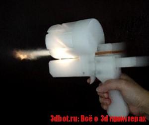 6-зарядный револьвер из 3d принтера