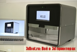 Пищевой 3d принтер Foodini