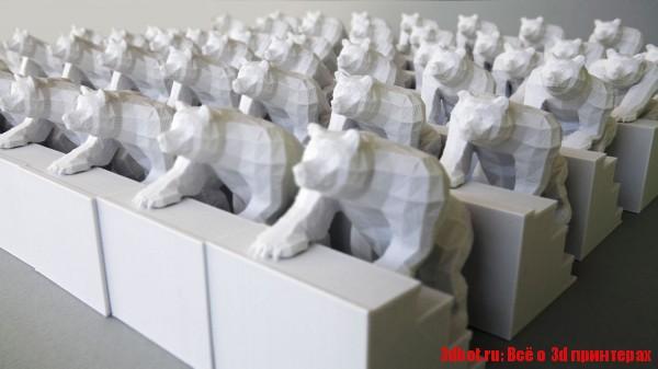 Медведи на 3d принтере