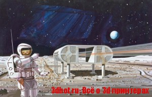 3d печать в космосе