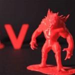 3D печать персонажа из игры Evolve