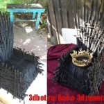 """Железный трон из """"Игры престолов"""" напечатали на 3D принтере"""