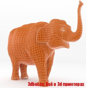 Как напечатать слона на 3D принтере