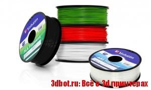 Verbatim: пластик для 3D принтеров
