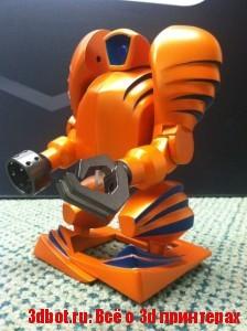 Напечатайте шагающего робота на 3d принтере