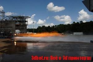 На 3D принтере сделали ракетный инжектор