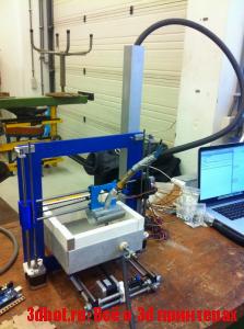 3D-принтер для печати металлами на основе Prusa i3