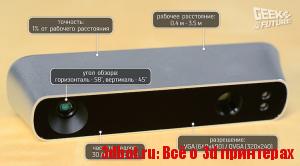 3D сканер Occipital Structure Sensor