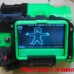 Pip-Boy 3000 напечатали на 3D принтере