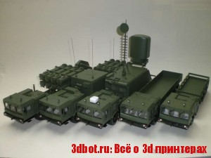 Как делают уменьшенные 3d модели военной техники