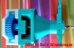 Чертежи  экструдера для 3D принтера