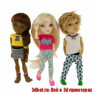 Куклы как заработок на 3d принтере