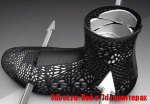 ADAPTIV - 3D печатные ортопедические ботинки