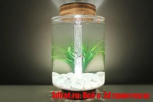 3D печатный аквариум