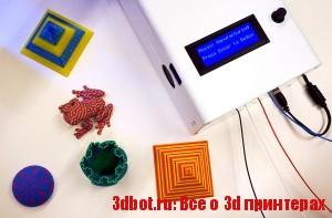 The Palette - система подачи пластика в 3d принтер