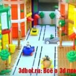 BuddyRacers от DreamFactory: 3D печатные игрушечные машинки
