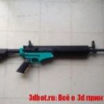 Натовскую винтовку сделали на 3D принтере