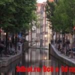 В Амстердаме на 3D принтере делают мост