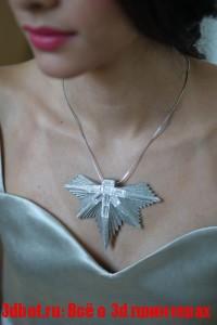 Коллекцию бумажных украшений из 3D принтера Mcor