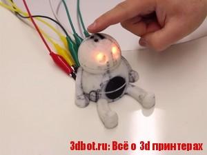 PrintPut - система интеграции сенсоров  3D объекты