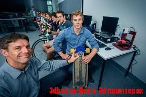 Студентов  будут обучать 3D печати