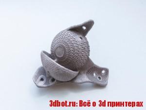 На 3D принтере напечатали титановый протез сустава