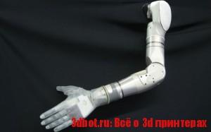 Протез руки сделан на 3d принтере