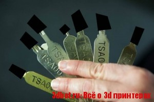 Ключи службы безопасности аэропортов США сделали на 3d принтере