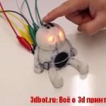 PrintPut — система интеграции сенсоров  3D объекты