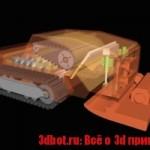 3D принтер для ремонта дорог