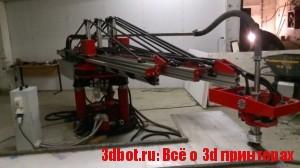 ApisCor - недорогой 3D принтер для печати домов