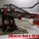 ApisCor — недорогой 3D принтер для печати домов