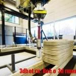 3d принтер строит дома из биобетона