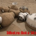 3D печать на Марсе