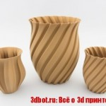 Материал для 3D печати на основе дерева